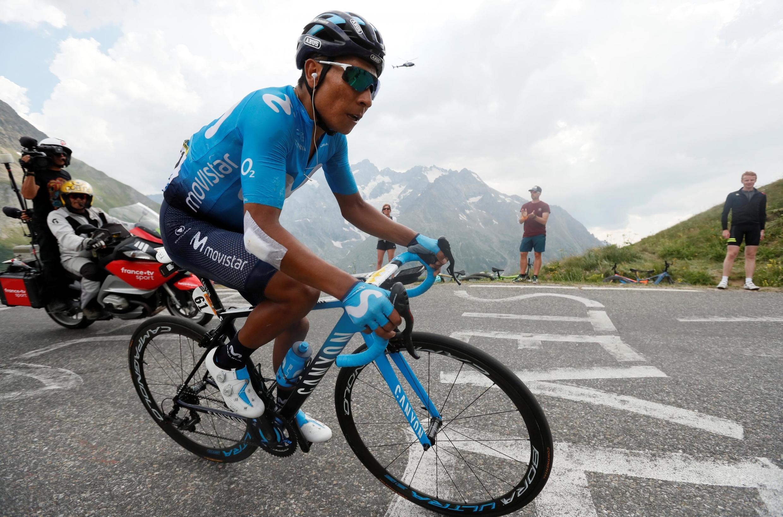 Le Colombien Nairo Quintana.
