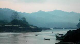 Vị trí dự định xây đập Xayaburi