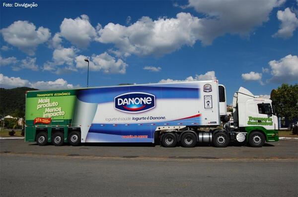 A empresa de iogutes Danone investe no Brasil diz imprensa francesa.