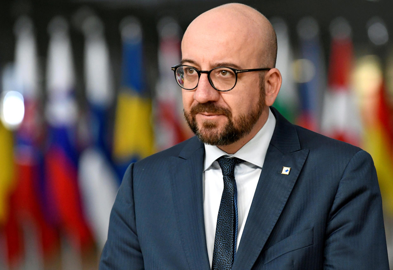 Belgian Prime Minister Charles Michel on December 14, 2018
