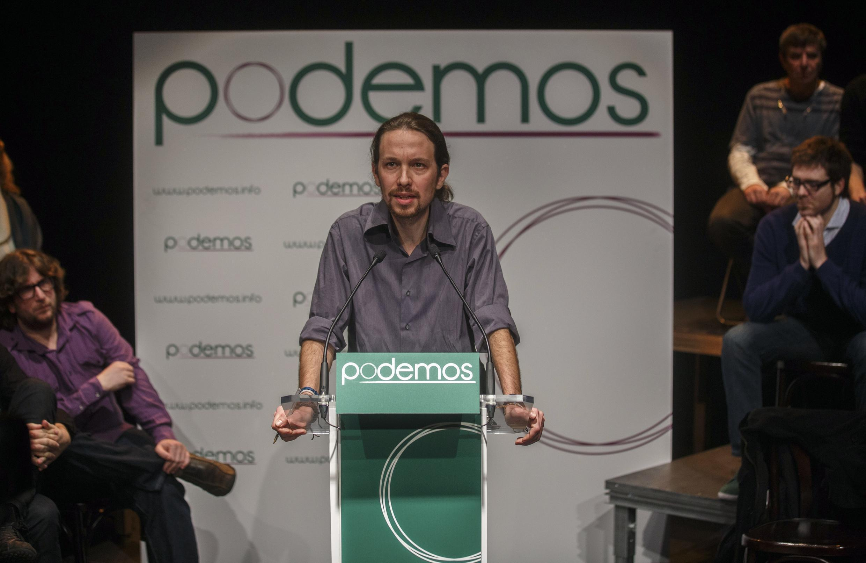 La formación Podemos, liderada por Pablo Iglesias, ha irrumpido con fuerza en el mapa político español.