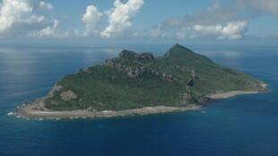 Một phần quần đảo Senkaku/Điếu Ngư tại biển Hoa Đông. Ảnh do quân đội Nhật Bản chụp ngày 15/09/2010.