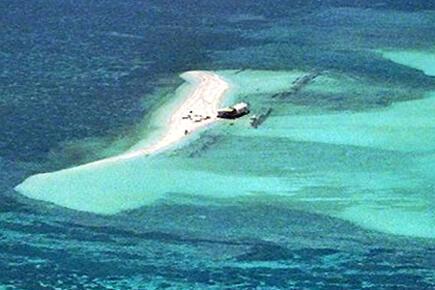 """Đảo Thị Tứ ở quần đảo Trường Sa, mà phía Philippines gọi là Pag-asa """"đảo Hy Vọng"""""""