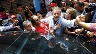 Foto de arquivo do ex-presidente Luiz Inácio Lula da Silva.