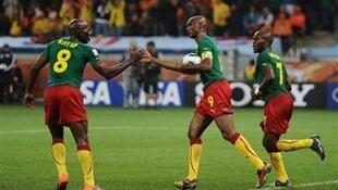 Samuel Eto'o a une fois de plus joué les hommes providentiels pour le Cameroun