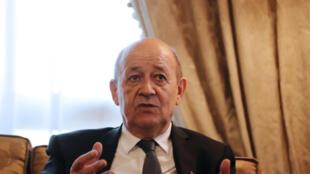 ministre des Affaires étrangères français Jean-Yves Le Drian