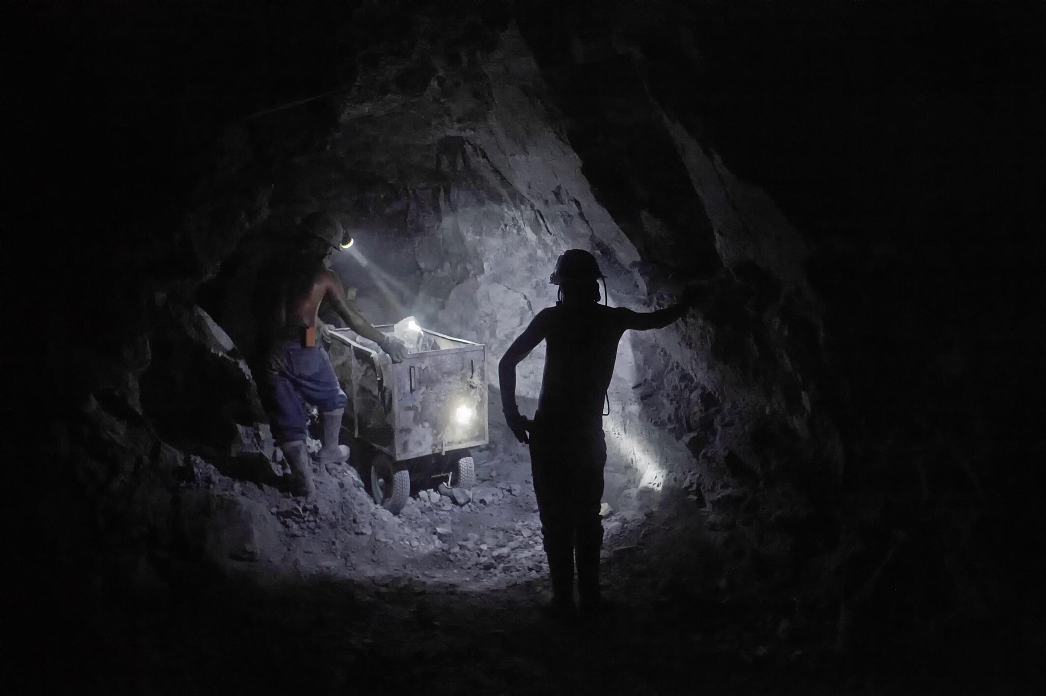 Los mineros de Potosí trabajan en condiciones extremadamente difíciles.