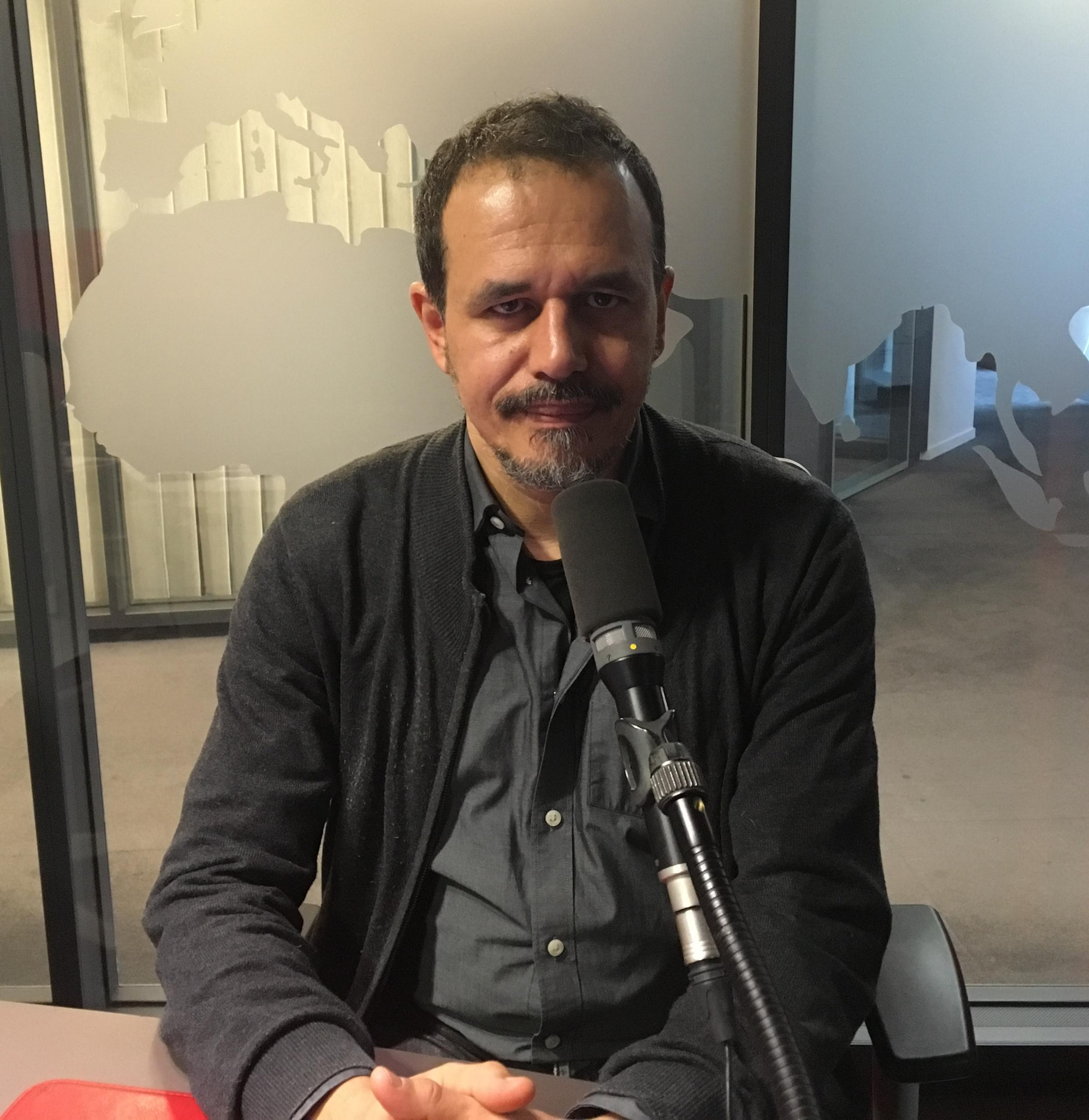 "Karim Miské, Franco-Mauritanian author of ""Arab Jazz"", a Paris-set crime novel"