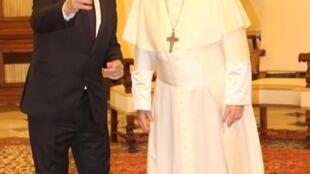 Jorge Carlos Fonseca foi recebido em audiência pelo Papa Francisco