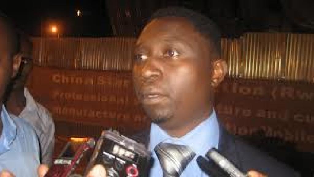 Frank Habineza, kiongozi wa chama cha kijani nchini Rwanda.