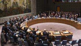 Le Conseil de sécurité de l'ONU, en septembre 2014.