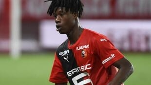 The 17-year-old Rennes midfielder Eduardo Camavinga has been linked with clubs such as Real Madrid and Paris Saint-Germain.