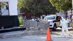 L'attaque la plus meurtrière, contre un commissariat de Barranquilla, a été revendiquée par l'ELN le 28 janvier 2018.