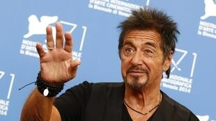 Al Pacino at the 71st Venice Film Festival last week