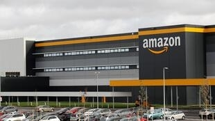 Amazon says it doesn't know when it will reopen its distribution sites in France.