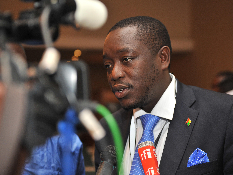 Baciro Djá, primeiro-ministro guineense.