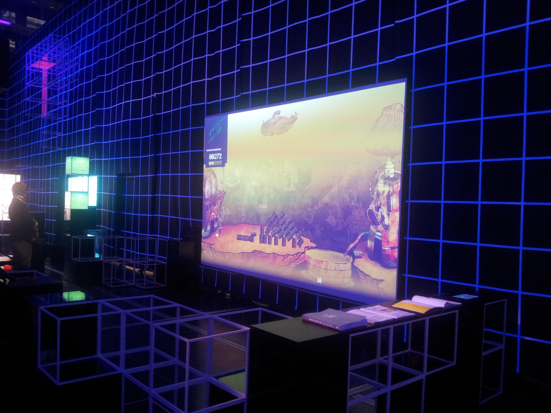 Video games exhibition at the Cité des Sciences in Paris