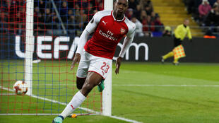 England international Danny Welbeck scored 15 minutes from time to give Arsenal a 5-3 aggregate lead against CSKA Moscow.