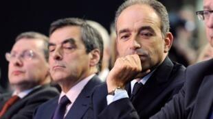 François Fillon e Jean-François Copé, em 27 de setembro de 2012
