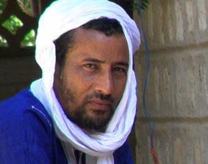 Lemine Ould Mohamed Salem, auteur du livre <i>Le Ben Laden du Sahara. Sur les traces du djihadiste Mokhtar Belmokhtarde. </i>, paru aux Editions de la Martinière.