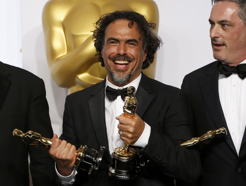 Đạo diễn Alejandro Gonzalez Inarritu và những giải thưởng Oscar. Ảnh ngày 22/02/2015