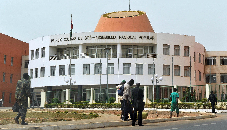 L'Assemblée nationale en Guinée-Bissau.