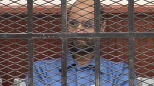 Saïf al-Islam, l'un des fils du président défunt Mouammar Kadhafi, le 2 mai 2013.