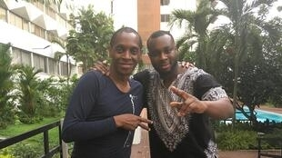 Claudy Siar et Abou Debeing.