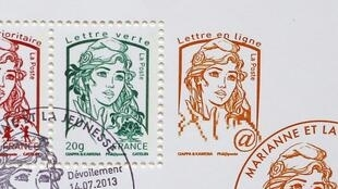 Mis en service en juillet 2013, le nouveau timbre-poste devrait connaître uen hausse historique de 7 à 15% en 2015