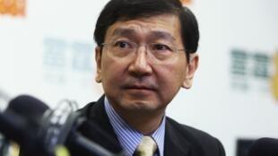 香港大學法律學院教授陳文敏資料圖片