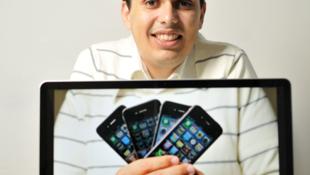 Le directeur marketing brésilien Breno Masi est fan des produits Apple.