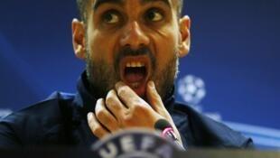 Josep Guardiola mai horar da 'Yan wasan Bayern Munich