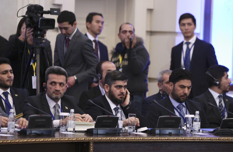 Tattaunawar Zaman lafiyar Syria a Astana
