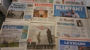 Diários franceses 31/07/2015