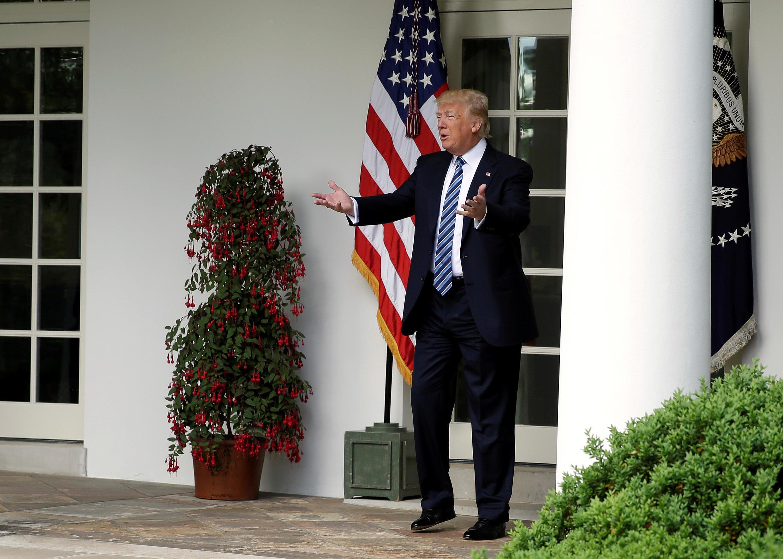 TT Donald Trump tại Nhà Trắng ngày 02/05/2017.