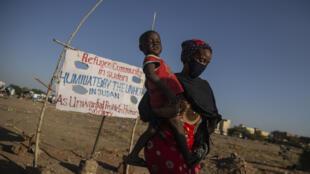 Soudan - camp de réfugiés près de Khartoum - Sara