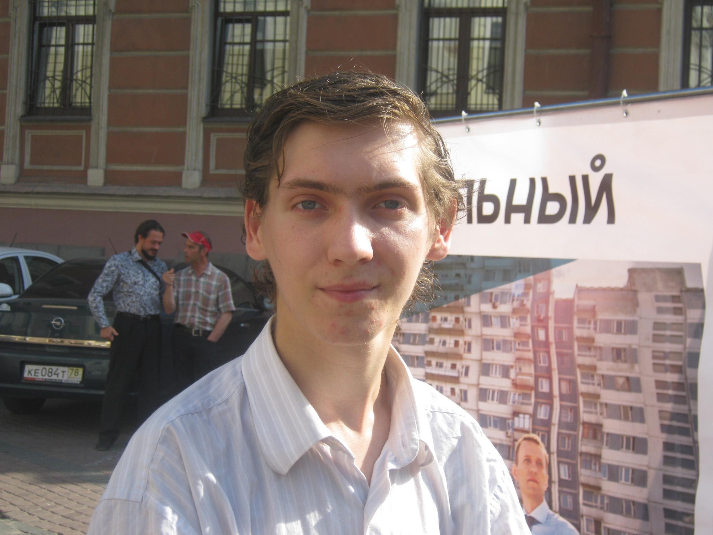 Координатор «Молодежной Солидарности» в Санкт-Петербурге Вадим Суходольский