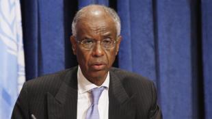 Ahmedou Ould-Abdallah, président du Centre 4S - Stratégie, Sécurité, Sahel, Sahara.