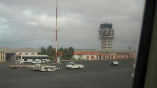 Aeroporto Amílcar Cabral, Ilha do Sal, Cabo Verde.