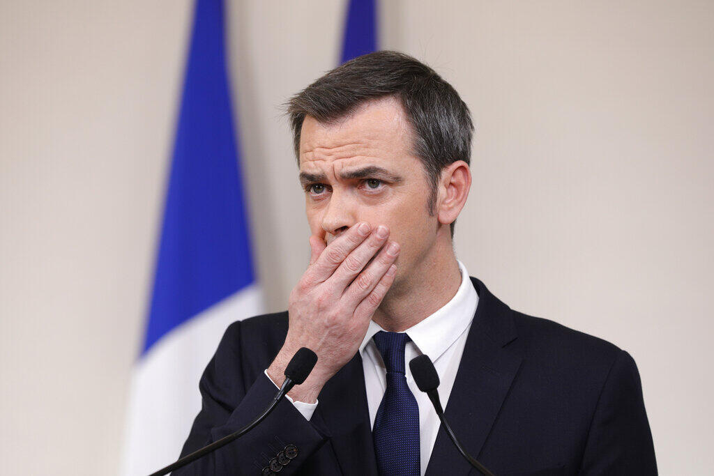 French Minister for Solidarity and Health, Olivier Véran.