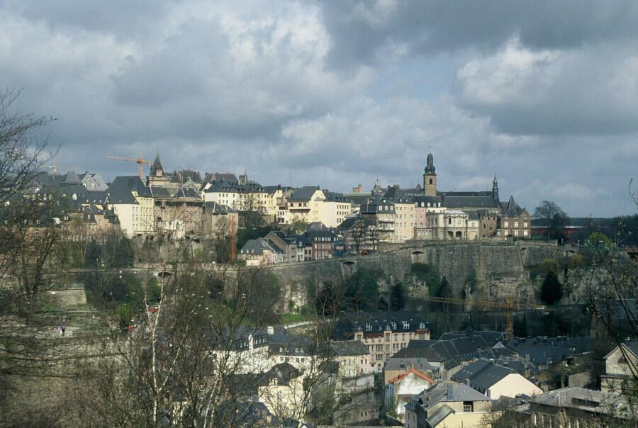 La ville de Luxembourg.