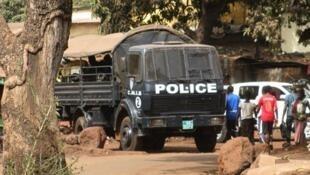 Conakry, 17 mars 2012. La  police était intervenue brutalement pour disperser la manifestation de l'opposition.