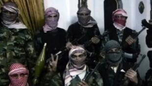 Baadhi ya wapiganaji waasi wa kiislamu ambao wanamahusiano na mtandao wa kigaidi wa Al Qaeda