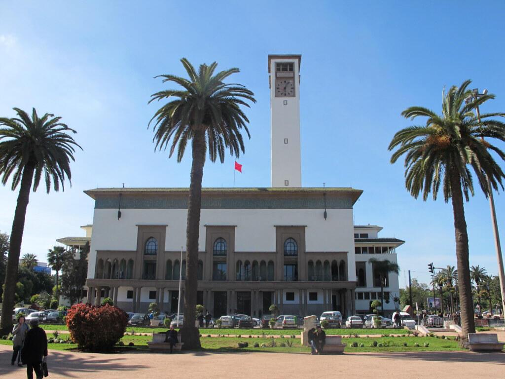 L'ex-hôtel de ville de Casablanca, 1928-1936 - Marius Boyer, architecte.