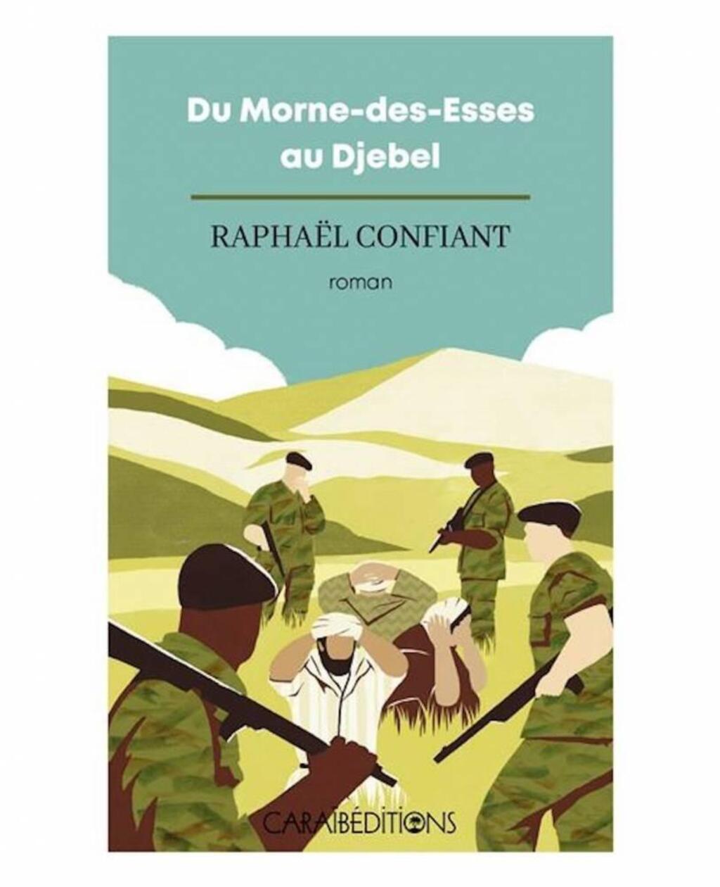 Couverture du nouveau roman de Raphaël Confiant