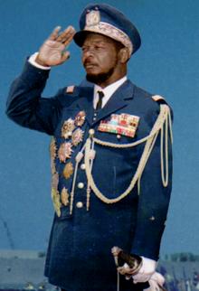 Hoàng đế Trung Phi bị phế truất Jean Bedel Bokassa.