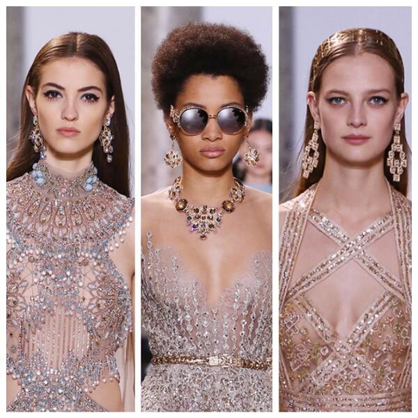 Коллекция Haute couture Эли Сааба –  платья для настоящих принцесс