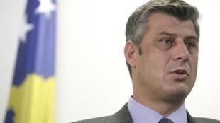 Hashim Thaci, président du Kosovo.