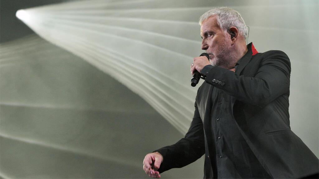 Bernard Lavilliers sur scène, 2014.