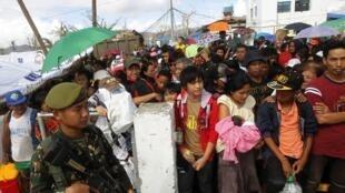 Tổng số tiền viện trợ của Mỹ cho Philippines lên tới 86 triệu đô la - REUTERS /Romeo Ranoco